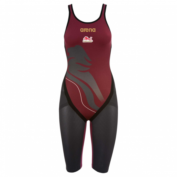 Buy Team England Arena Carbon-Flex Open Back Short Leg Suit Online at arenaswimwearstore.com