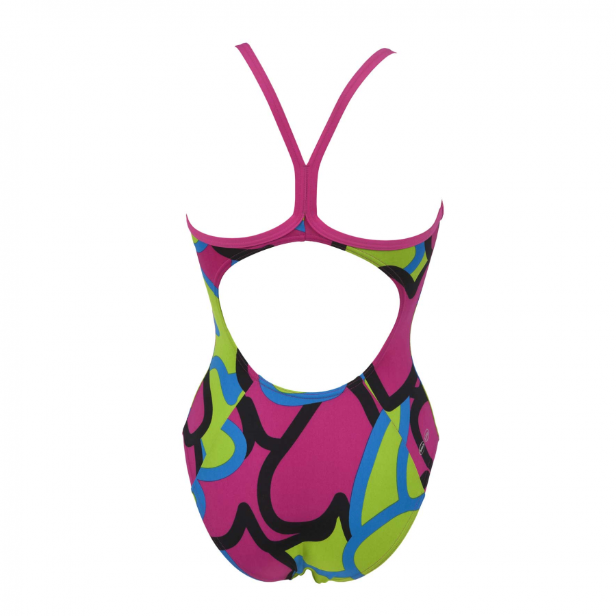 Arena Ladies Purple Swimsuit - Tickers
