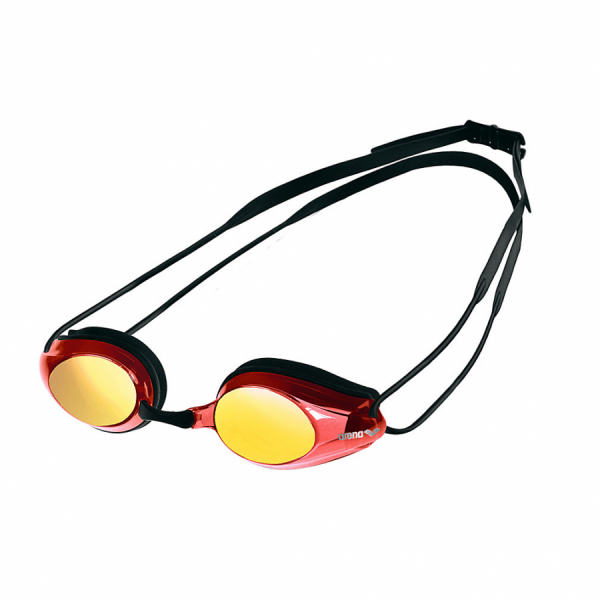 Arena Tracks Mirror Racing Goggles - Red Multi Lens