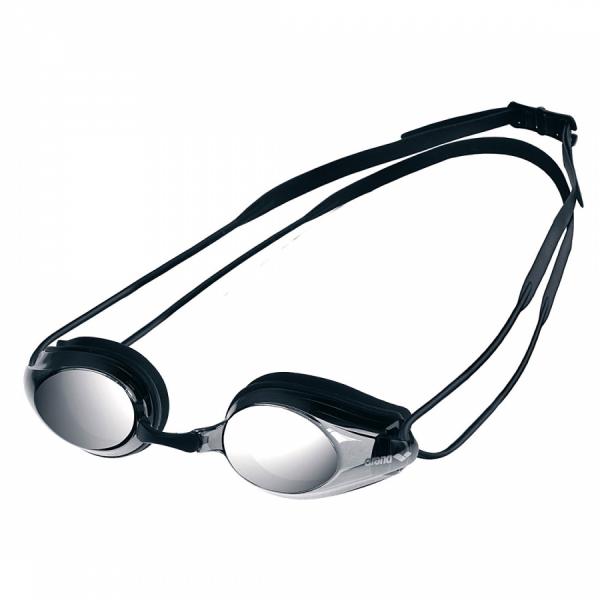 Arena Tracks Mirror Racing Goggles - Smoke Lens