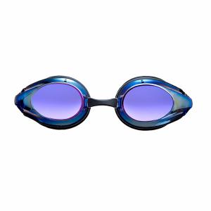 Arena Tracks Mirror Racing Goggles - Blue Multi Lens