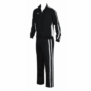 Unisex Arena Tribal Youth Tracksuit - Black