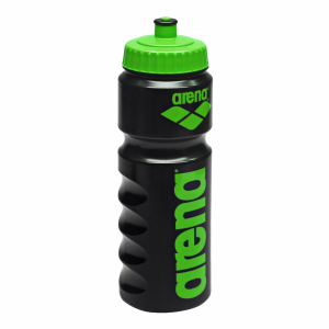 Arena Water Bottle - Black / Green
