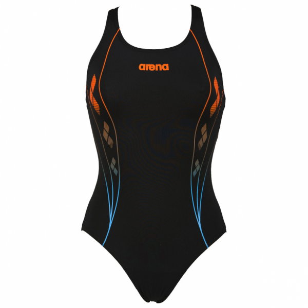 Buy Arena Web Black and Blue Swimsuit