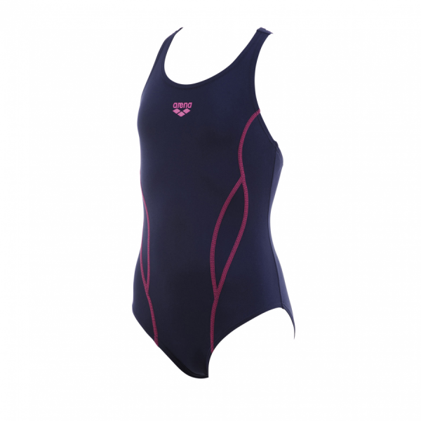 Buy Arena Wing Girl's Navy Blue Swimsuit
