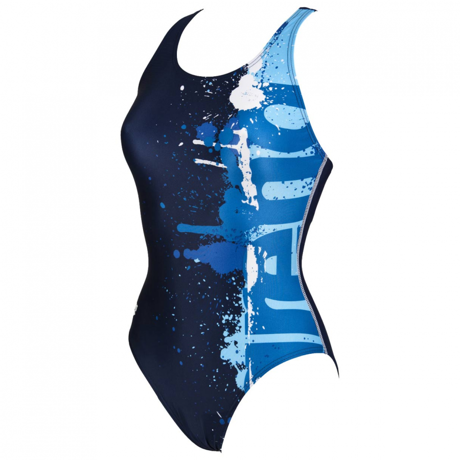 Shop Arena Writer Blue Swimsuit