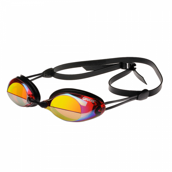 Arena X-Vision Mirror Racing Goggles - Red / Yellow