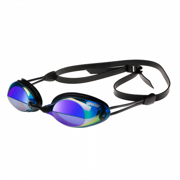 Arena X-Vision Mirror Racing Goggles - Smoke / Blue