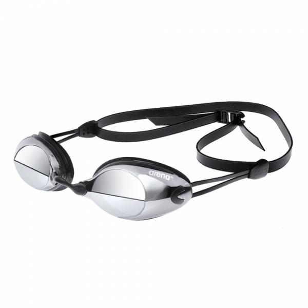 Arena X-Vision Mirror Racing Goggles - Smoke / Silver