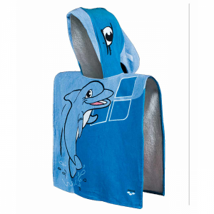 Arena Zhiroito Kids Hooded Towel - Turquoise