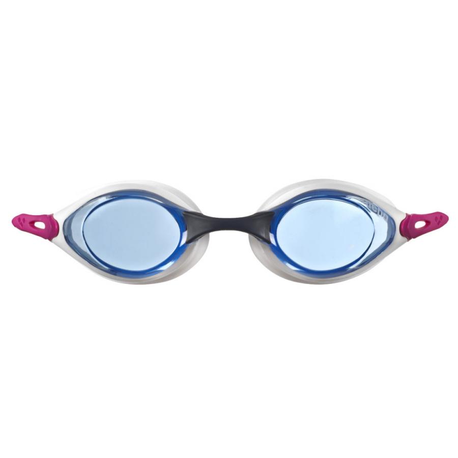 Shop Arena Cobra Racing Goggles - Blue / Fuchsia