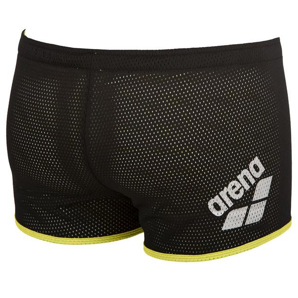 Buy Arena Square Cut Drag Shorts - Black