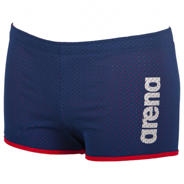 Buy Arena Square Cut Drag Shorts - Navy Blue