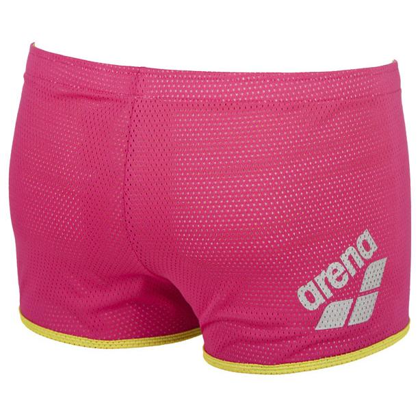 Buy Arena Square Cut Drag Shorts - Pink