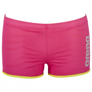 Buy Arena Square Cut Drag Shorts - Pink