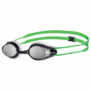 Buy Arena Tracks Mirror Racing Goggles - Green / White