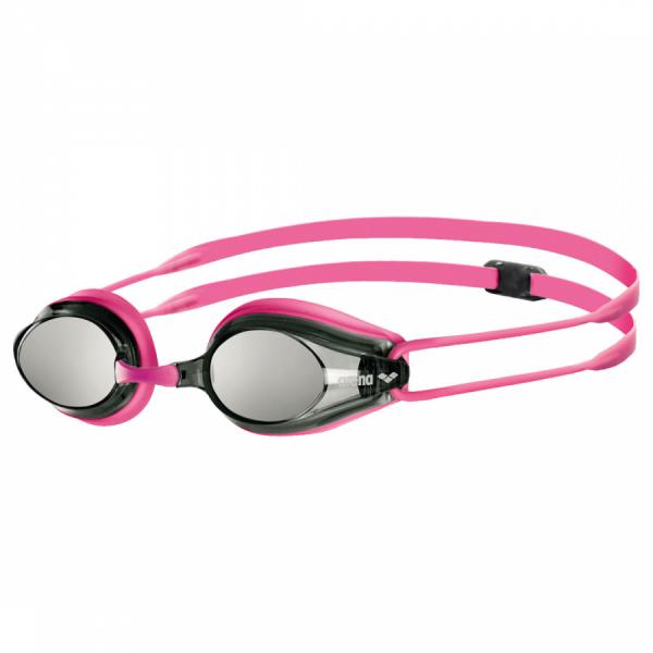 Buy Arena Tracks Mirror Racing Goggles - Fuchsia