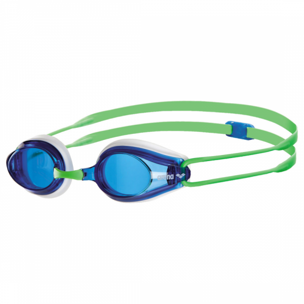 Shop Arena Tracks Racing Goggles - Blue / Green