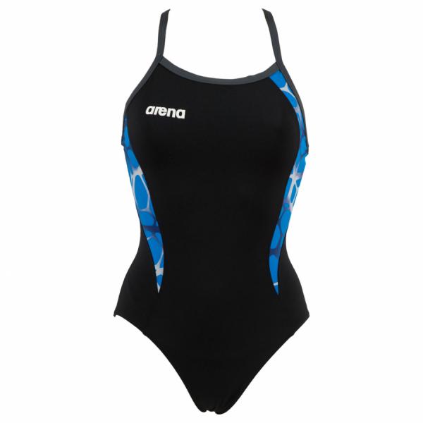 Shop Arena Carbonite Ladies Swimsuit - Black / Blue