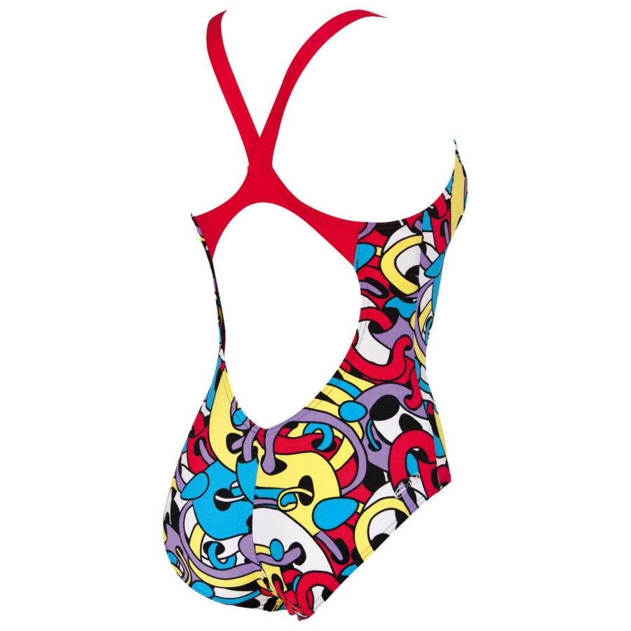 Buy Arena Cores Ladies Swimsuit - Red