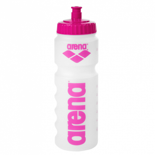 Buy Arena Water Bottle - Clear / Pink