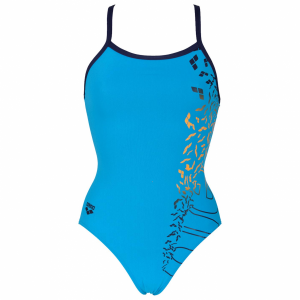 buy Arena Maracana Turquoise Swimsuit