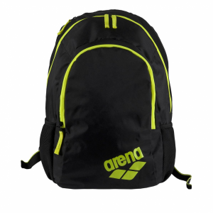 Arena Spiky 2 Backpack - Black / Fluo Yellow