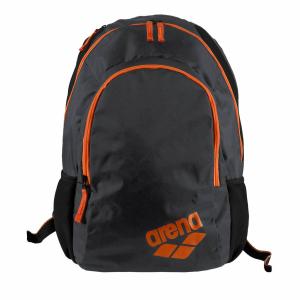 Buy Arena Spiky 2 Backpack - Grey / Fluo Orange