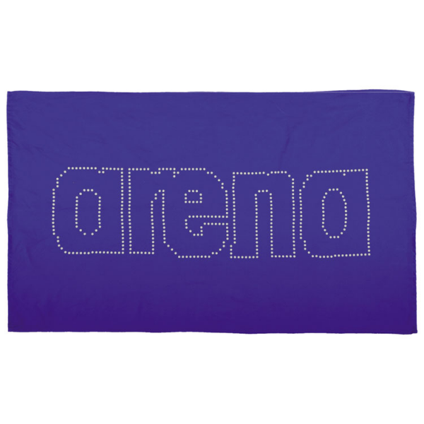 Arena Haiti Microfibre Towel - Royal Blue