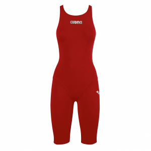 Arena JUNIOR ST Short Leg Suit - RED