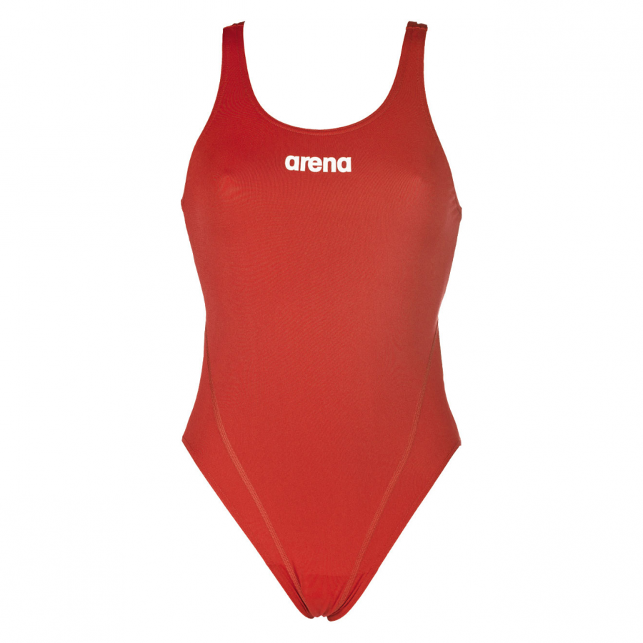 Arena red swimsuit