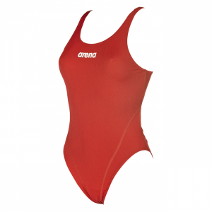 Hign leg red swimsuit