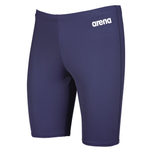 shop arena solid navy blue jammers
