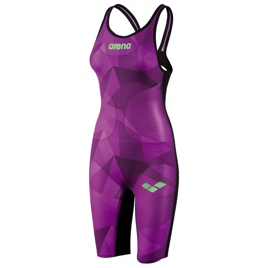 Arena Carbon Air Open Back Suit - LIMITED EDITION Crystal Fighter