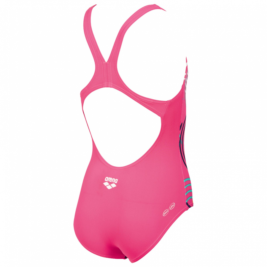 Arena Babble Girls Swimsuit - Pink