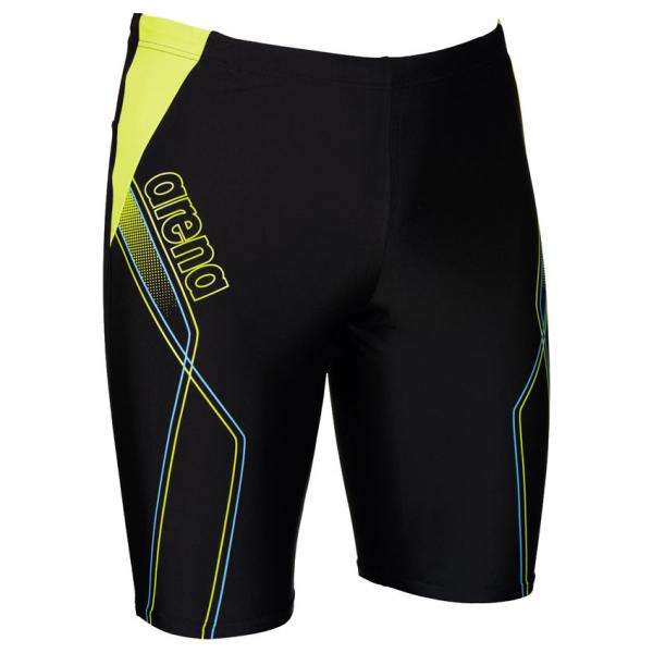 Mens Cruzeiro Swim Jammers - Black / Soft Green / Turquoise