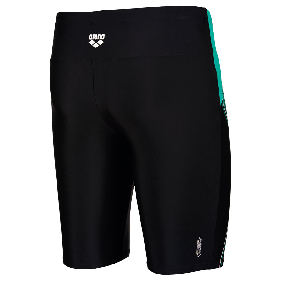 Mens Cruzeiro Swim Jammers - Black / Bali Green / White