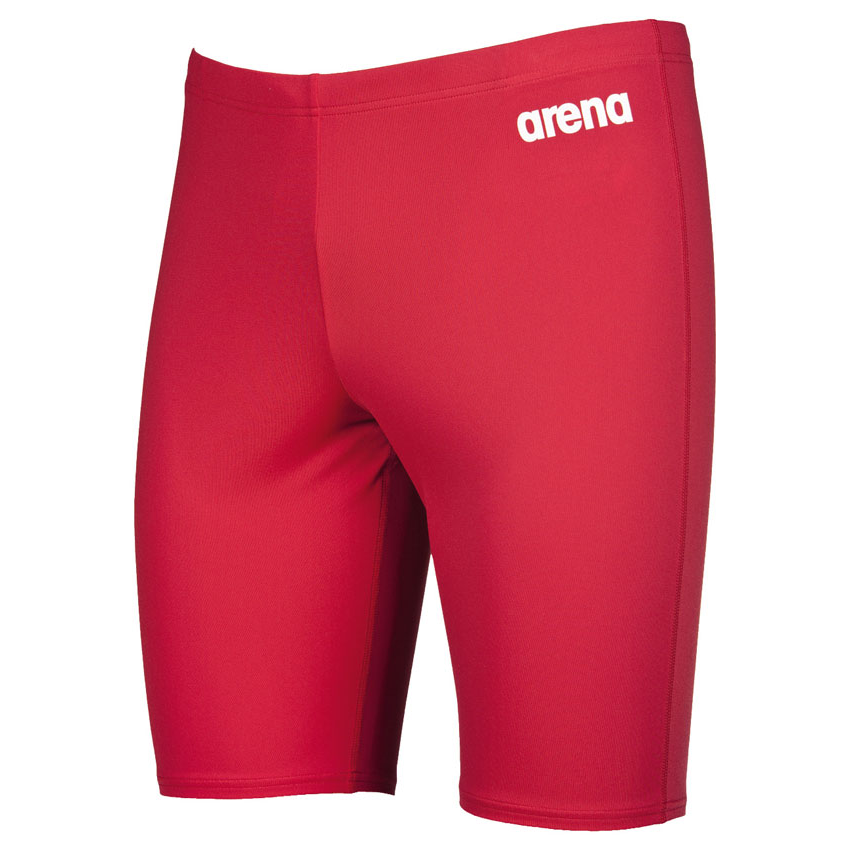 shop arena solid red jammers