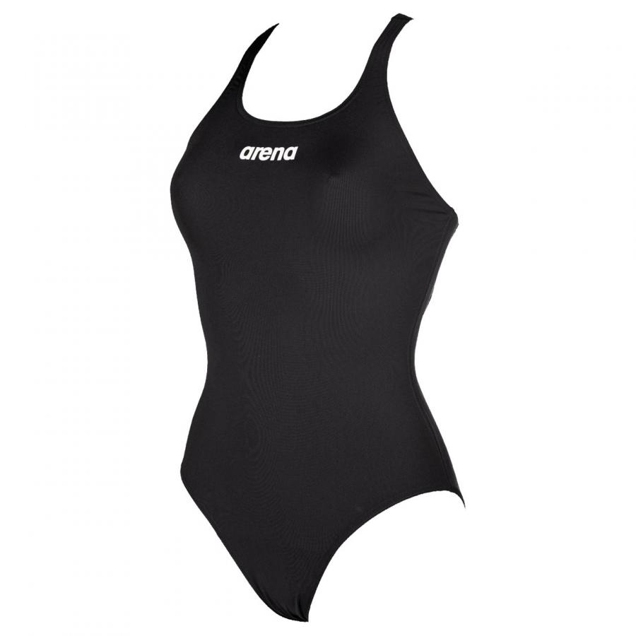 black swimming costume