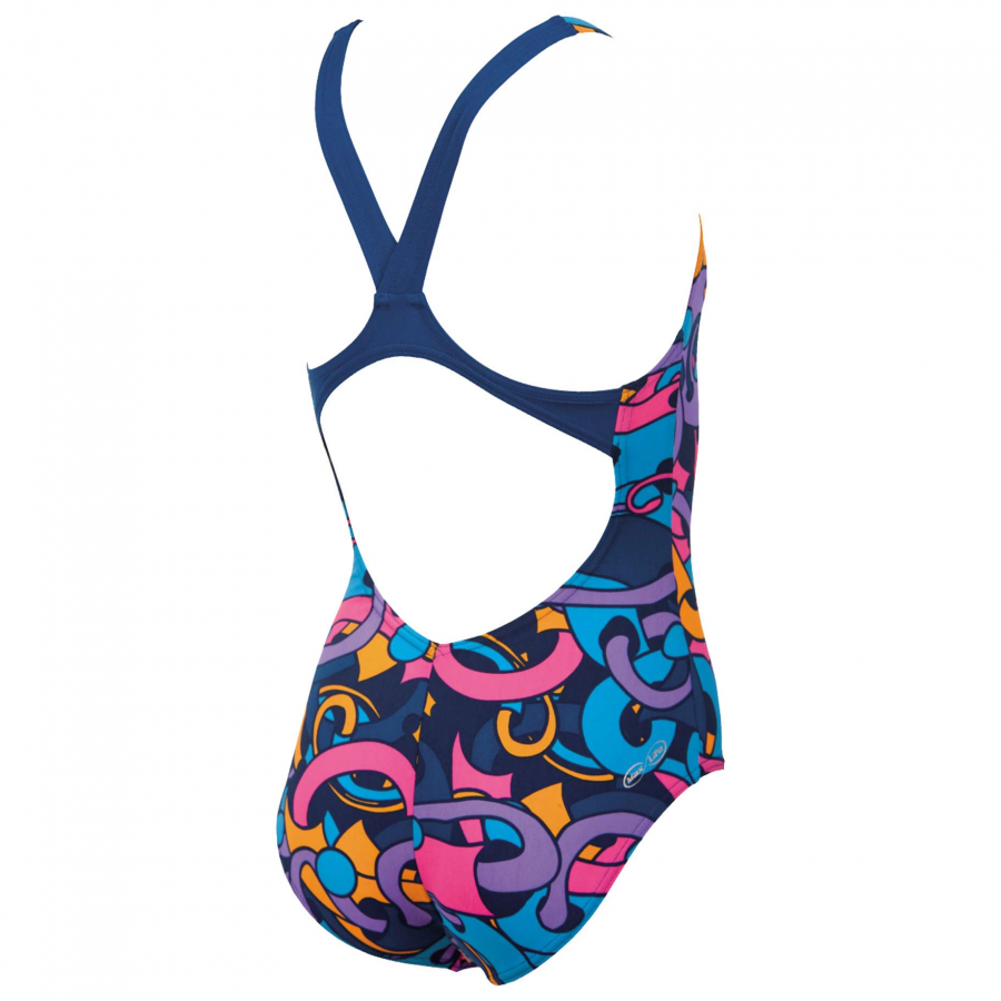 Arena Cores Girls Swimsuit - Pink / Blue