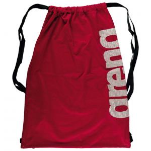 red mesh bag