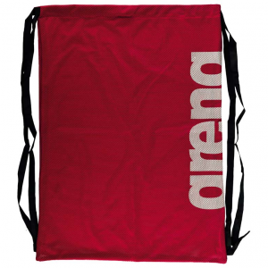 arena mesh bag red