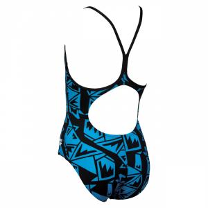 Arena Fenrir Girls Swimsuit - Blue