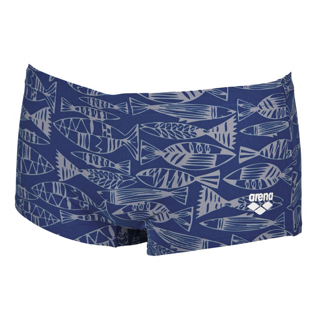 Arena Fisk Blue Low Waist Swim Shorts