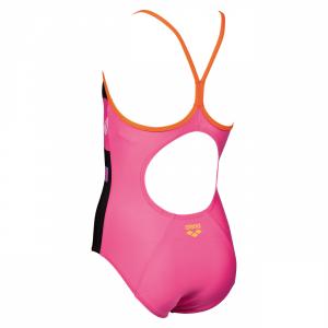 Arena Girls Swimsuit - Folk