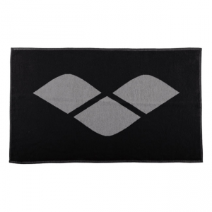 Arena Hiccup Towel - Black