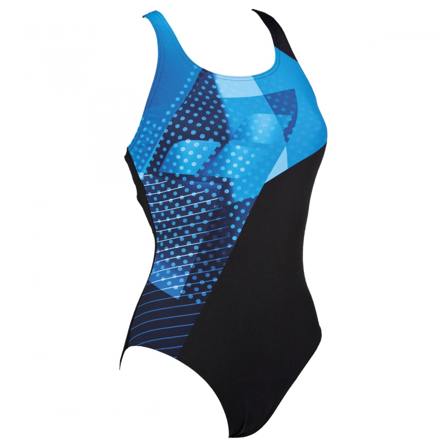Arena Himmel One Piece Swimsuit - Black / Blue