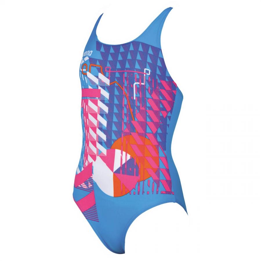 Arena Inge Girls Swimsuit - Blue