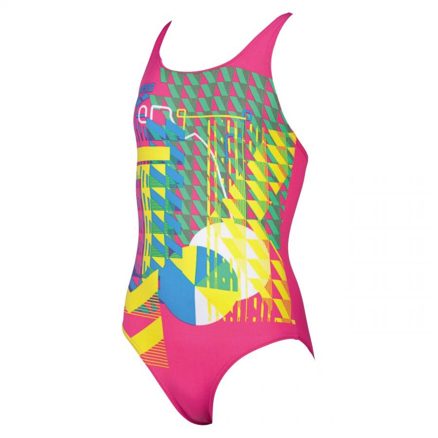 Arena Inge Girls Swimsuit - Pink