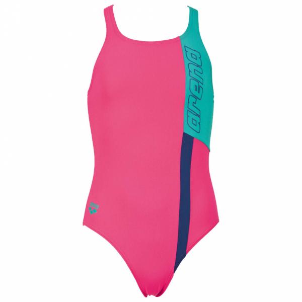 Arena Ipanema Girls Pink Swimming Costume